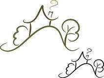 Icono simple de la casa (ii) Imagen de archivo libre de regalías