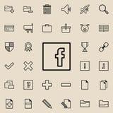 icono social de la muestra de la red Sistema detallado de iconos minimalistic Diseño gráfico superior Uno de los iconos de la col libre illustration
