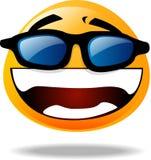 Icono sonriente Imagen de archivo