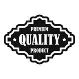 Icono superior de la etiqueta del producto de calidad, estilo simple ilustración del vector