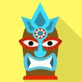 Icono tribal del ?dolo, estilo plano libre illustration