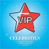 Icono universal del saludo de la película de las celebridades ilustración del vector