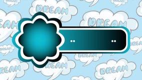 Icono vacío en la parte posterior del sueño libre illustration