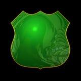 Icono verde Imagen de archivo libre de regalías