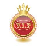 Icono VIP del Web Imágenes de archivo libres de regalías