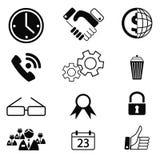 Iconos 10 Fotos de archivo libres de regalías
