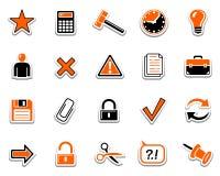 Iconos 2 del Web ilustración del vector