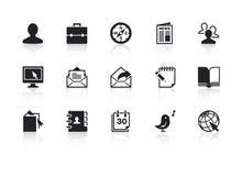 Iconos 2 del Web Imágenes de archivo libres de regalías