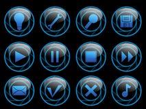 Iconos ilustración del vector