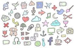 Iconos Fotografía de archivo libre de regalías