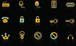 Iconos Foto de archivo libre de regalías