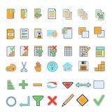 Iconos abstractos ilustración del vector