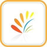 Iconos abstractos del Internet del vector Imagen de archivo libre de regalías