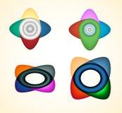 Iconos abstractos del Web Fotografía de archivo libre de regalías