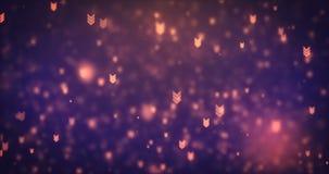Iconos anaranjados móviles modernos de la flecha de la animación de Loopable stock de ilustración