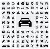 Iconos autos Fotografía de archivo libre de regalías