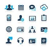 Iconos Azure Series de la tecnología del negocio libre illustration