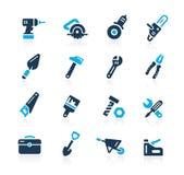 Iconos //Azure Series de las herramientas ilustración del vector