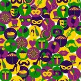 Iconos brillantes del carnaval del vector Imagen de archivo libre de regalías