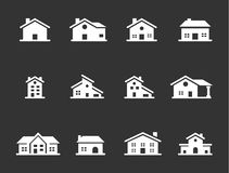 Iconos caseros del vector Libre Illustration
