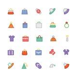Iconos coloreados moda 1 del vector libre illustration