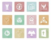Iconos cristianos Foto de archivo