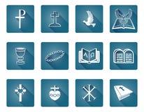Iconos cristianos Foto de archivo libre de regalías