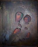 Iconos cristianos muy antiguos, pinturas de los apóstoles de los santos Fotos de archivo libres de regalías