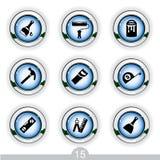 Iconos de Diy Imagen de archivo libre de regalías