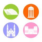 Iconos de Escocia fijados libre illustration