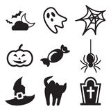 Iconos de Halloween libre illustration