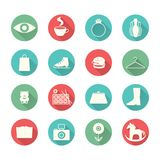 Iconos de la alameda Imagen de archivo