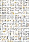 Iconos de la aplicación web Fotos de archivo