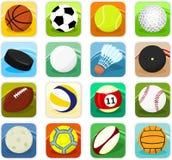 Iconos de la bola Imágenes de archivo libres de regalías