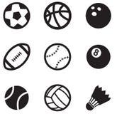 Iconos de la bola Fotos de archivo libres de regalías