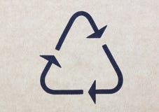 Iconos de la caja de papel Foto de archivo libre de regalías