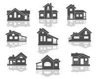 Iconos de la casa fijados