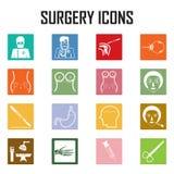 Iconos de la cirugía Libre Illustration