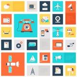 Iconos de la comunicación Fotos de archivo