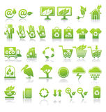 Sistema de la ecología. Fotos de archivo libres de regalías