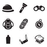 Iconos de la expedición Imágenes de archivo libres de regalías