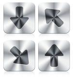 Iconos de la flecha Fotografía de archivo libre de regalías