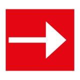Iconos de la flecha Imagen de archivo libre de regalías