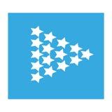 Iconos de la flecha Imágenes de archivo libres de regalías