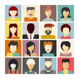 Iconos de la gente Imágenes de archivo libres de regalías