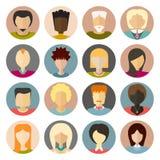 Iconos de la gente ilustración del vector