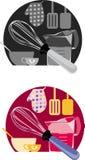 Iconos de la hornada libre illustration