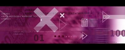 Iconos de la imagen/del Internet de la bandera, flechas + código del HTML
