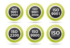 Iconos de la ISO stock de ilustración