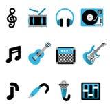 Iconos de la música libre illustration